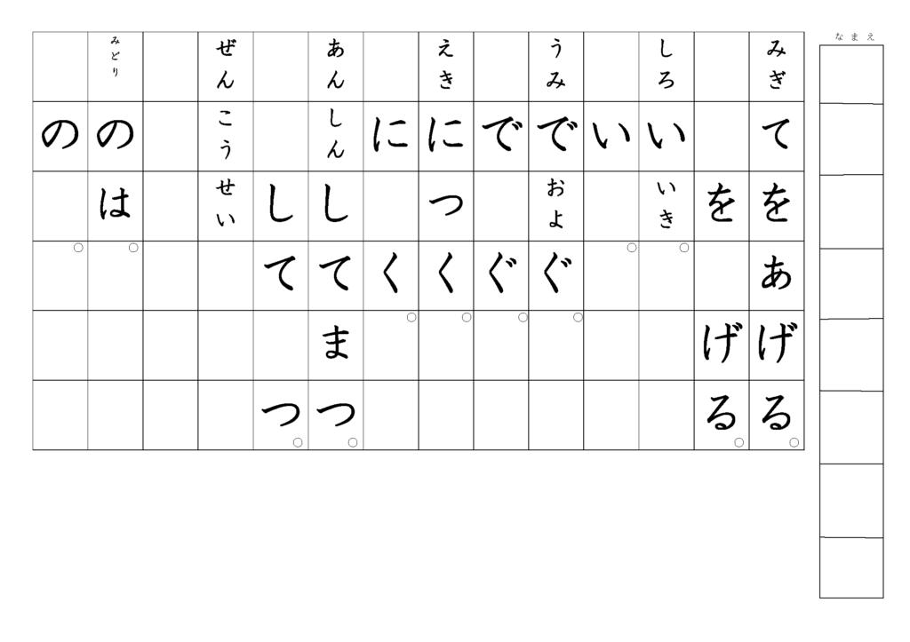 漢字書き取りプリント3年生06