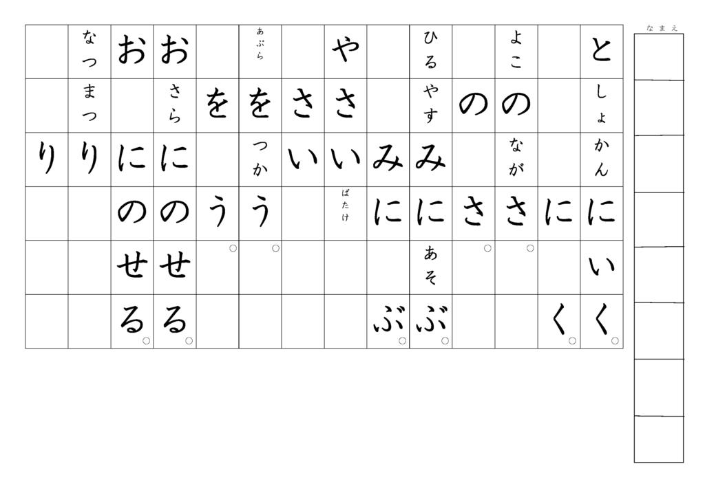 漢字書き取りプリント3年生23