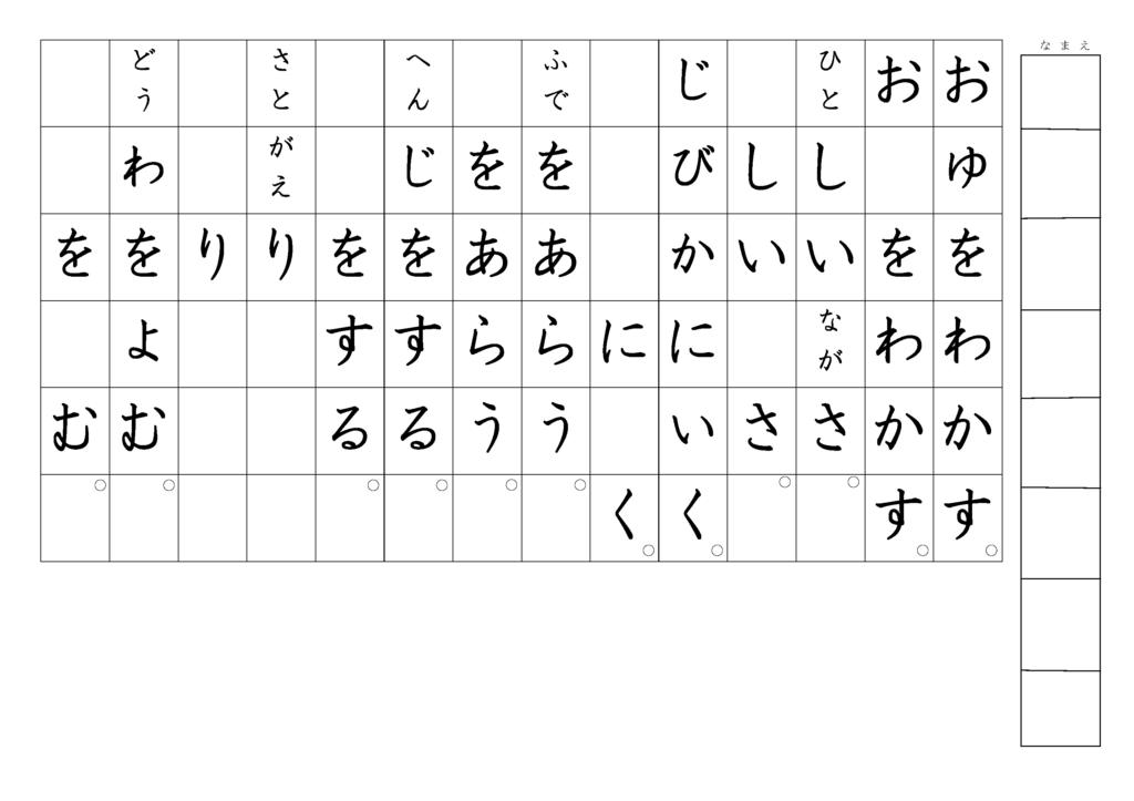 漢字書き取りプリント3年生25