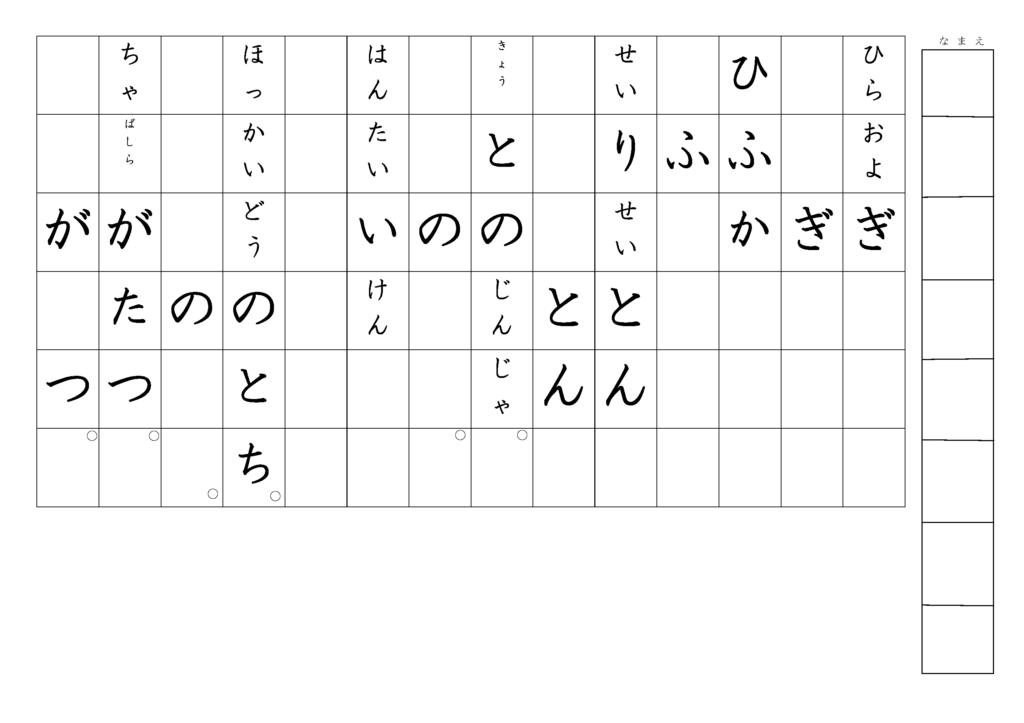 漢字書き取りプリント3年生27